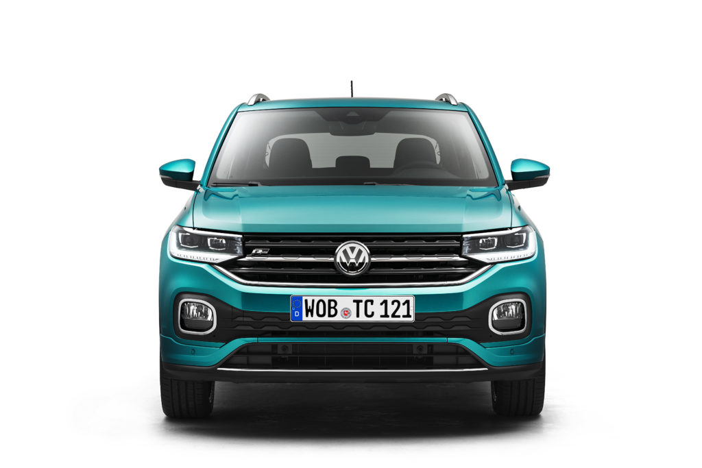 Foto Frontal del nuevo Volkswagen VW T-Cross